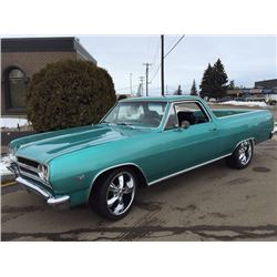 1965 CHEVROLET ELCAMINO 4 SPEED CUSTOM