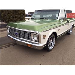 1971 CHEVROLET C10 SHORT BOX FLEETSIDE SPECTACULAR BUILD