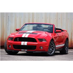 2007 SHELBY GT 500 CONVERTIBLE