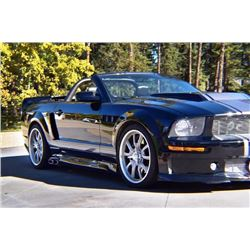 1:30 PM SATURDAY FEATURE! 2006 SANDERSON CUSTOM TRIBUTE MUSTANG - 1 OF 2!!