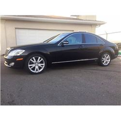 2008 MERCEDES S450 4MATIC 4-DOOR