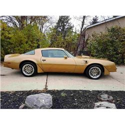 1978 PONTIAC TRANS AM 2-DOOR