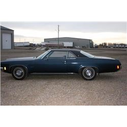 1971 OLDSMOBILE DELTA 88 2-DOOR HARD TOP