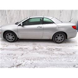 2008 CHRYSLER SEBRING 2-DOOR HARD TOP CONVERTIBLE