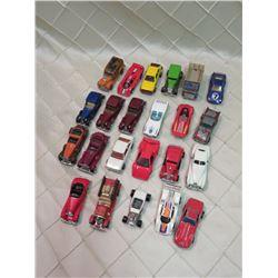 Hotwheels Toy Car Lot