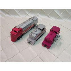 Locomotives x3