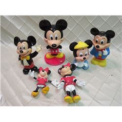 Vintage Disney Collectible Figures