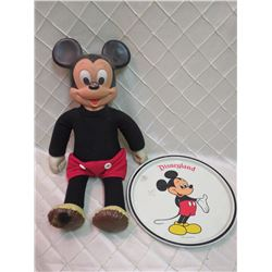 Vintage Mickey with Platter