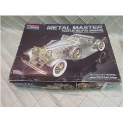 Metal Master Monogram Packard Boatail Speedster Model Kit