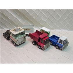 Tin Toy Truck Lot