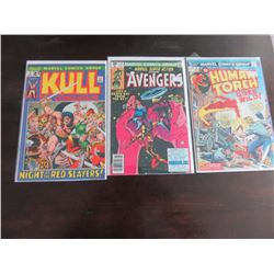 Kull the Conqueror, Marvel Super Action and Human Torch