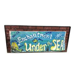 Back to the Future Enchantment Under The Sea Dance Poster Movie Props