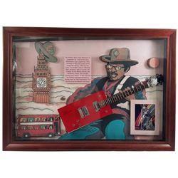 Bo Diddley Signed Guitar Framed