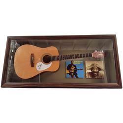 Richie Havens Signed Guitar Framed