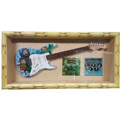 The Beach Boys Signed Guitar Framed