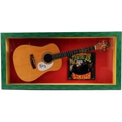 The Collected Country Joe and the Fish Signed Guitar Framed