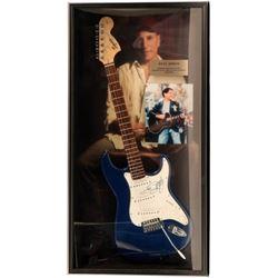 Paul Simon Signed Guitar Framed