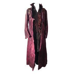 Underworld: Evolution Viktor (Bill Nighy) Battle Coat Movie Costumes