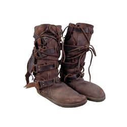 Underworld: Rise of the Lycans Raze (Kevin Grevioux) Boots Movie Costumes