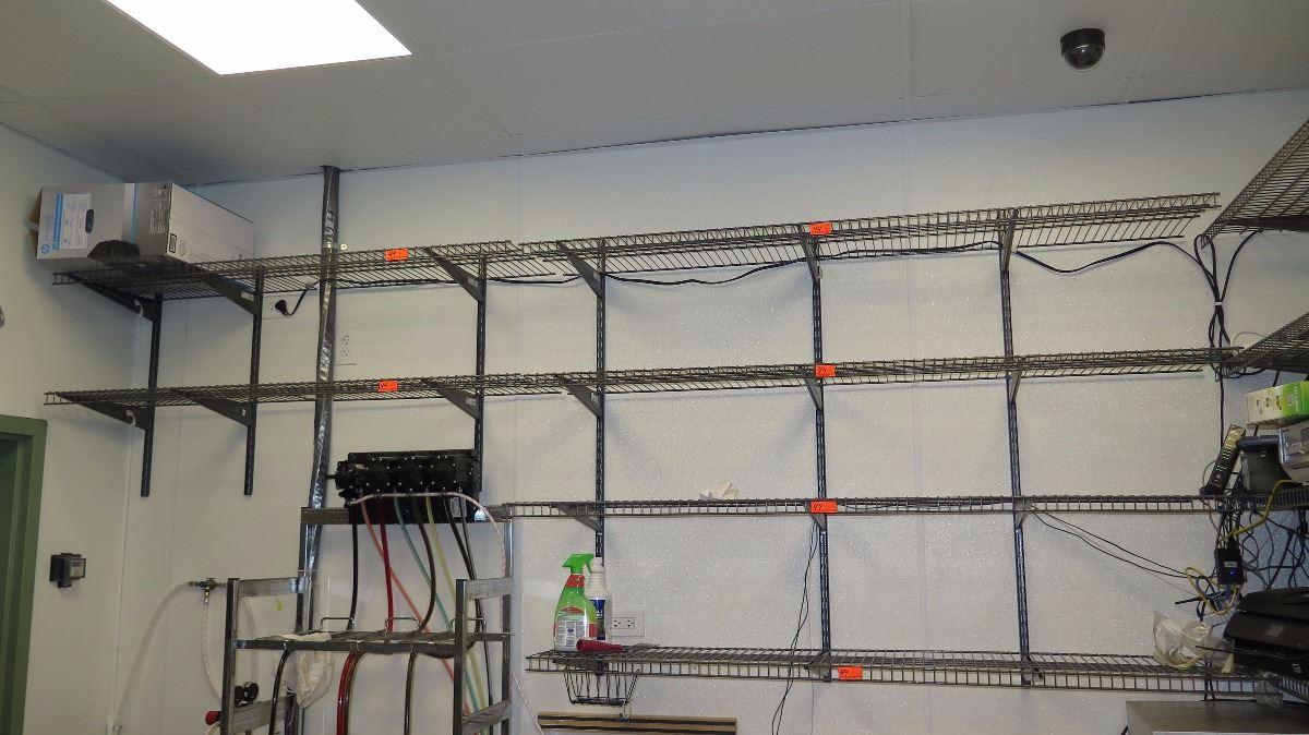 Qty 10 Closet Maid Wall Mounted Wire Shelving 16 Bracket