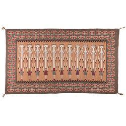 "Navajo Weaving, 4'4"" x 7'5"""