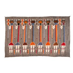 "Navajo Weaving, 7'11"" x 4'11"""
