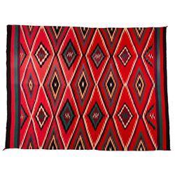 "Navajo Weaving, 6'6"" x 5'"