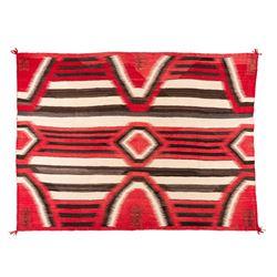 "Navajo Weaving, 4'7"" x 6'2"""