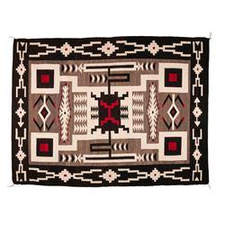 "Navajo Weaving, 6'8"" x 5'"
