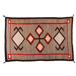 "Navajo Weaving, 3'9"" x 4'7 ½"""