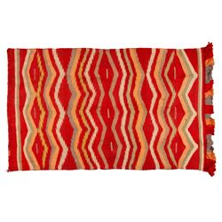 "Navajo Weaving, 4'3"" x 2'6"""