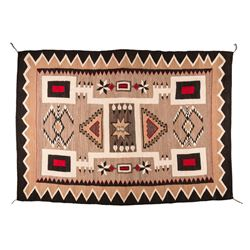 "Navajo Weaving, 7'1"" x 5'"