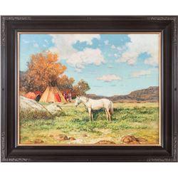 Jorge Tarallo Braun, oil on canvas