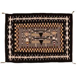 "Navajo Weaving, 5'8"" x 4'2"""