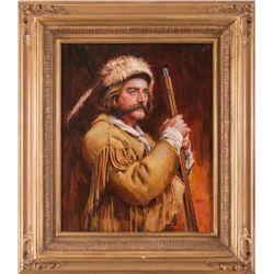 Dan Goozee, oil on canvas