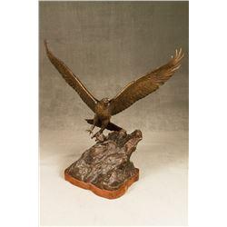 D. Bawden, bronze