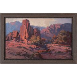 Jack King, oil on canvasboard