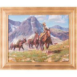 Paul Kethley, oil on canvas