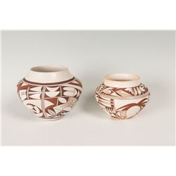 Two Hopi Pueblo Pots by Frogwoman