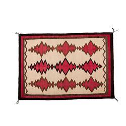 "Navajo Weaving, 3'4"" x 4'10 ½"""