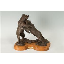 Les Welliver, bronze