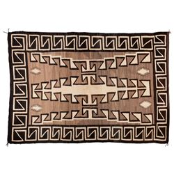 "Navajo Weaving, 6'8"" x 4'8"""