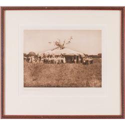 Edward Curtis, two photogravures