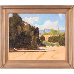 Harold Deist, oil on canvasboard