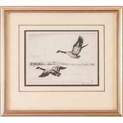 Hans Kleiber, three etchings