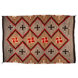 "Navajo Weaving, 7'11"" x 5'3"""