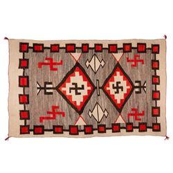"Navajo Weaving, 7'5"" x 4'6"""
