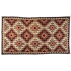 "Navajo Weaving, 9'2"" x 5'"