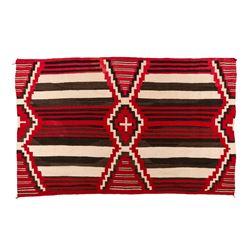 "Navajo Weaving, 4'1"" x 6'5"""