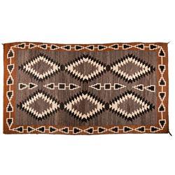 "Navajo Weaving, 9'4"" x 5'2"""